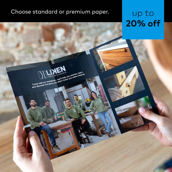Up to 20% off Brochures. Promo code REALDEAL