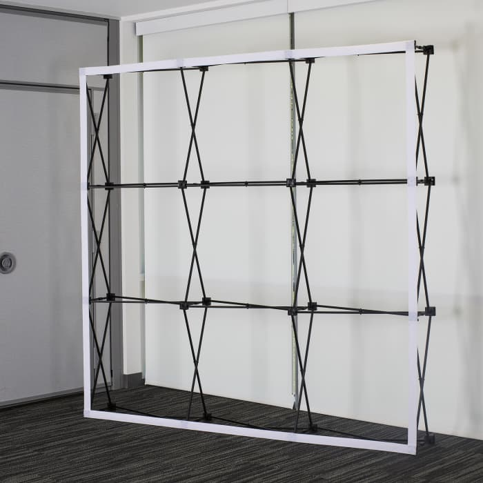 Pop up display frame