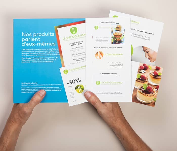 Vistaprint free samples for your business