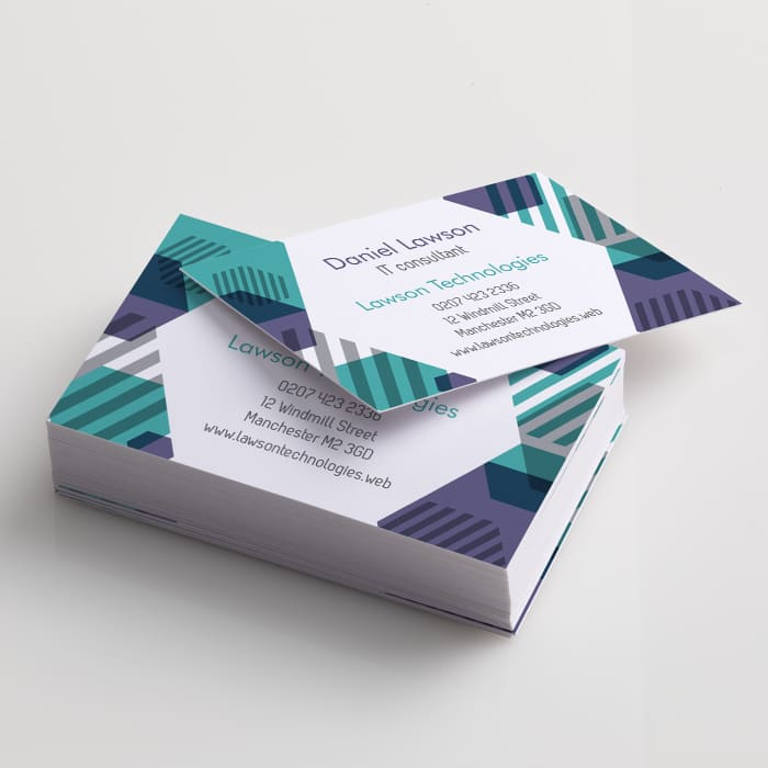 How to make professional business cards at home