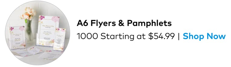 Bestseller: 1000 A6 Budget Flyers from $54.99.
