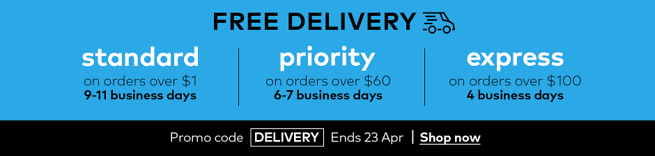 NZ free delivery + 15% off SW