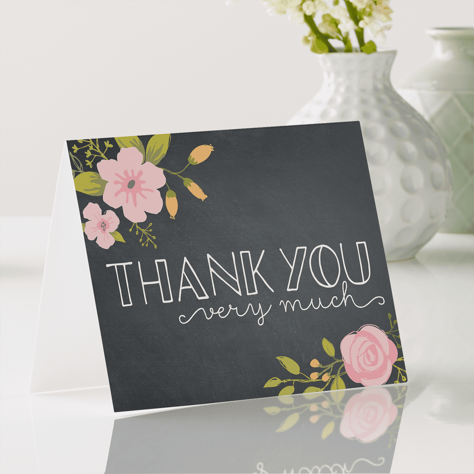 Wedding Color Schemes For Fall - thank you cards - Wedding Soiree Blog by K'Mich, Philadelphia's premier resource for wedding planning and inspiration