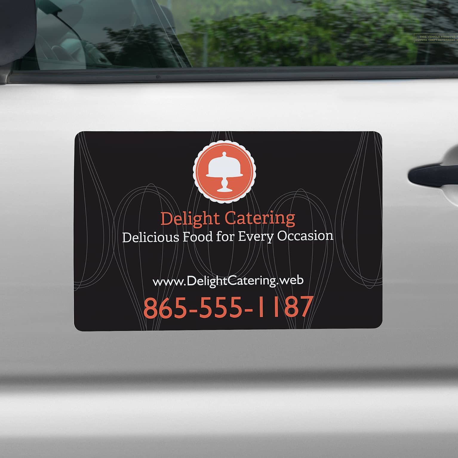 Car magnets magnetic car signs vistaprint