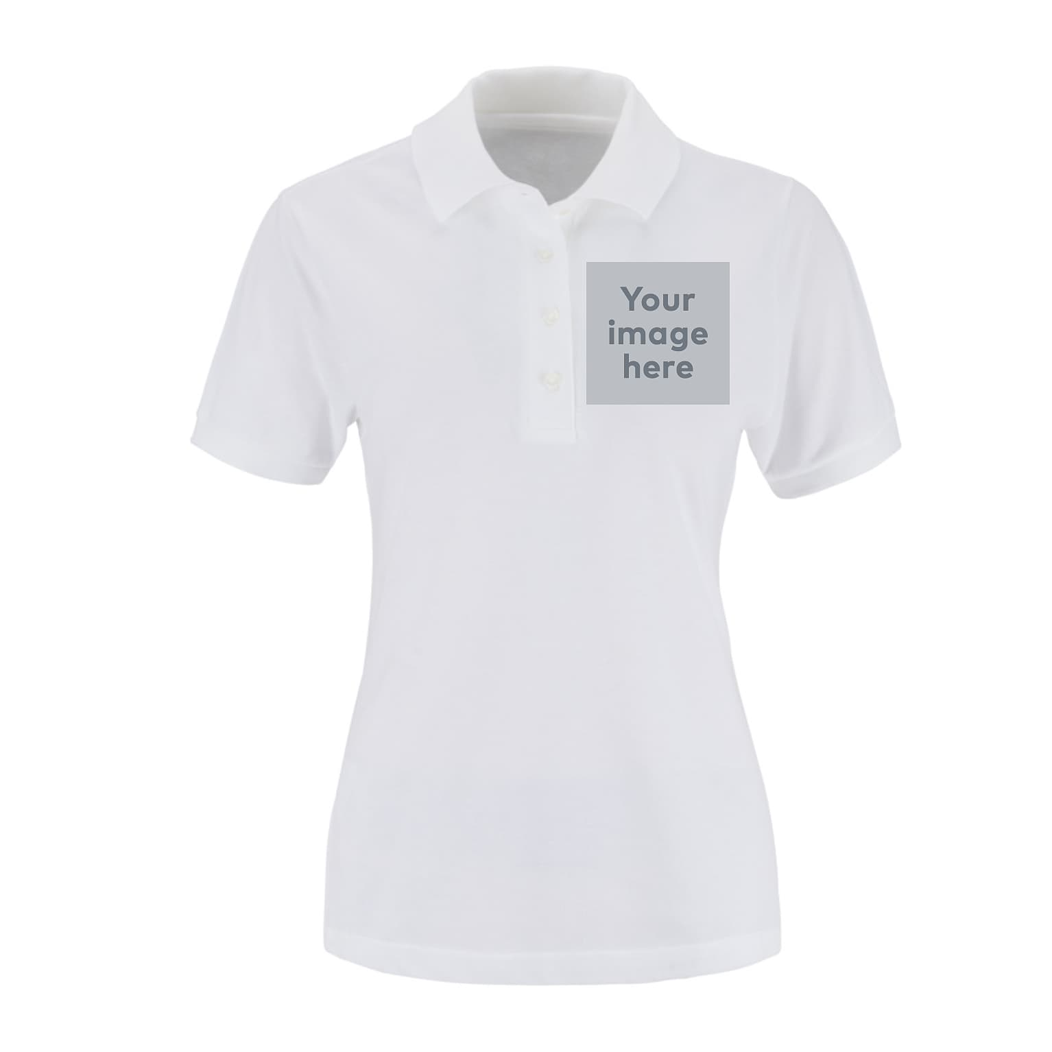 45de84f1 JERZEES Ladies Polo Shirts | Vistaprint