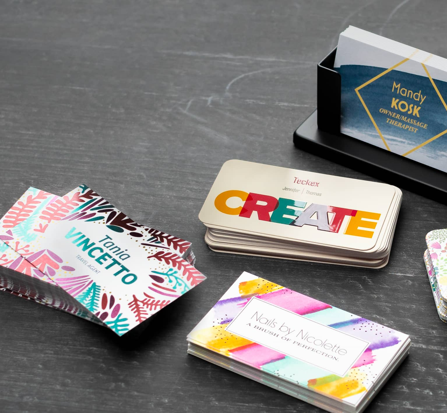 Business cards design: print your business card online I