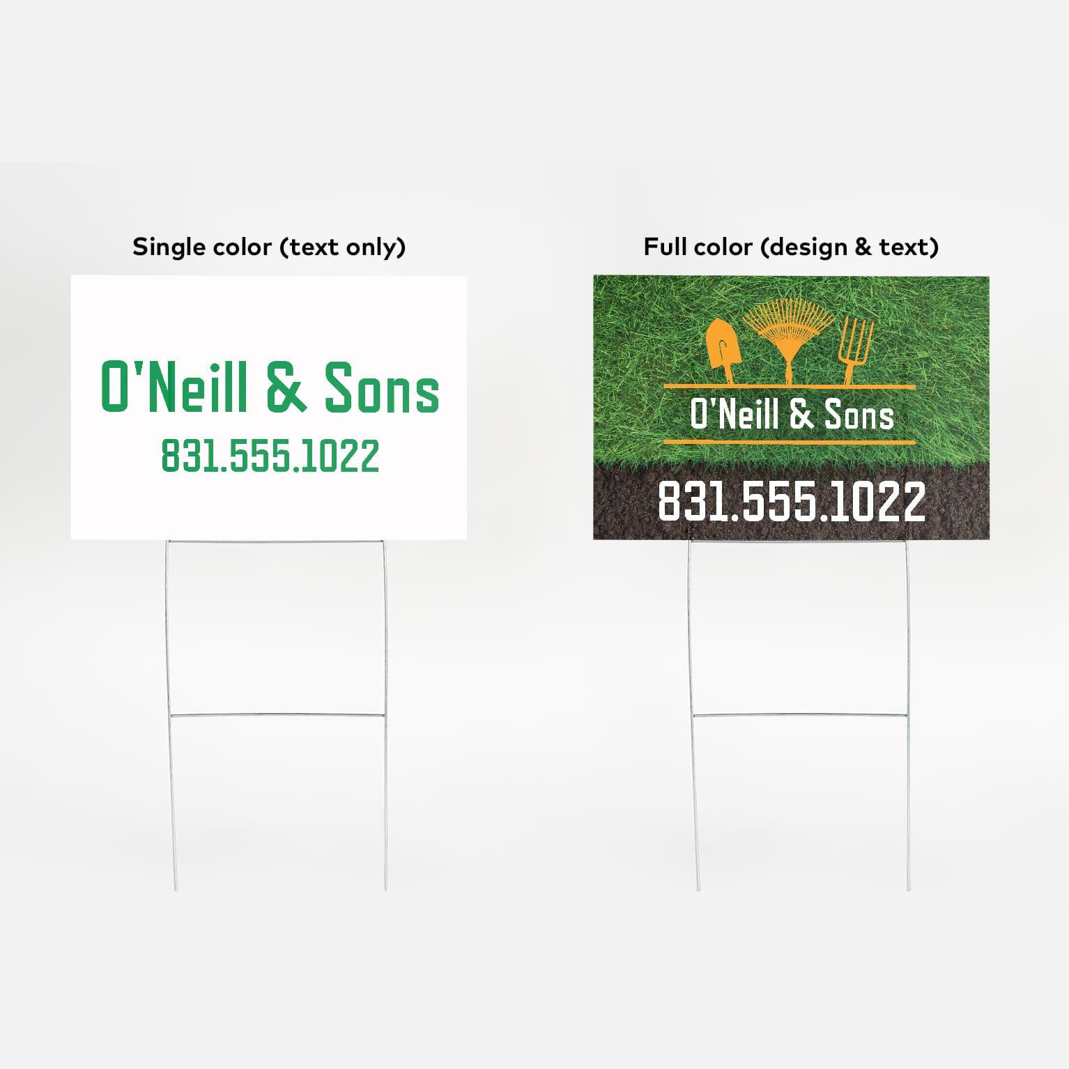 Custom Signage for Indoor & Outdoor use | Vistaprint