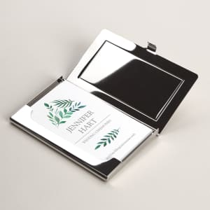 bac7718f011f Personalized Business Card Holders & Cases | Vistaprint