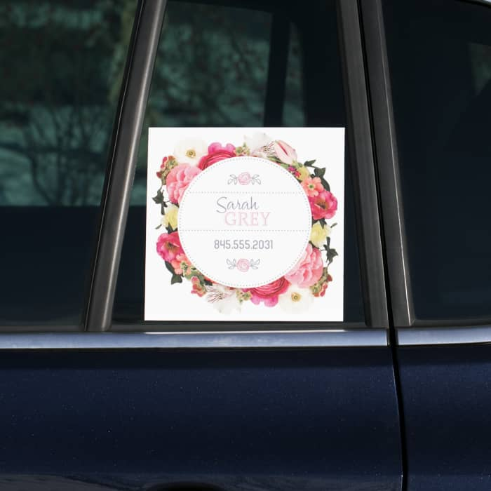 picture about Printable Window Decals referred to as Vehicle Window Decals