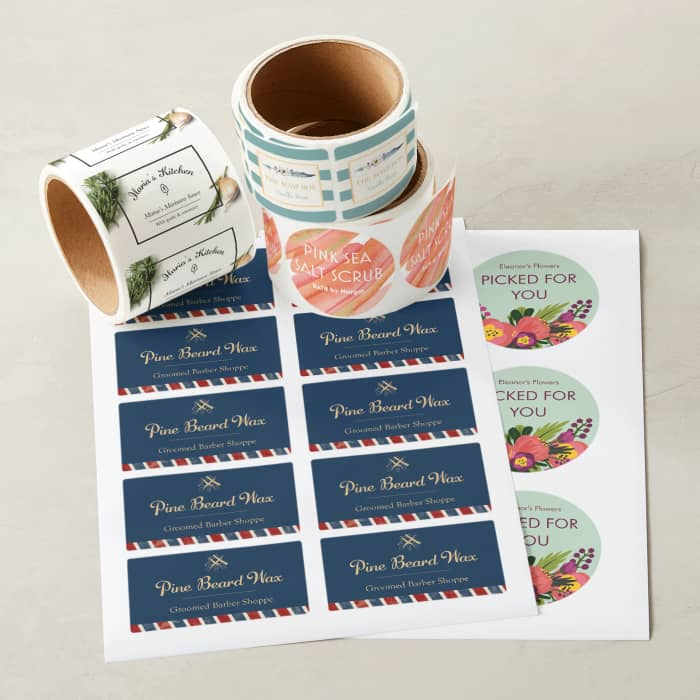 graphic relating to Printable Wine Tags for Bridal Shower Gift named Material Labels