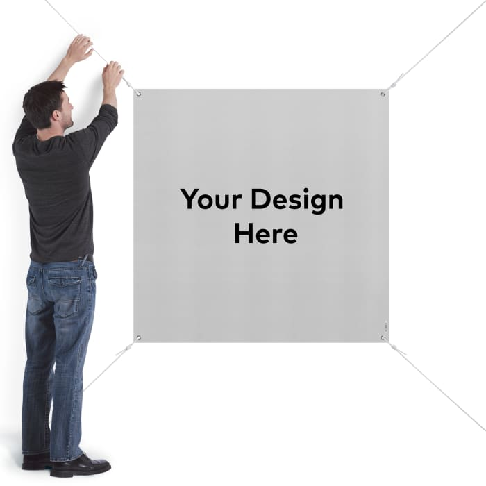 picture relating to Making a Printable Banner titled Vinyl Banners