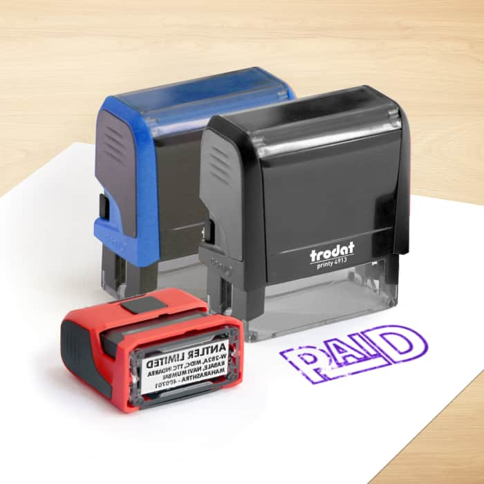 Personalised Self Inking Stamps