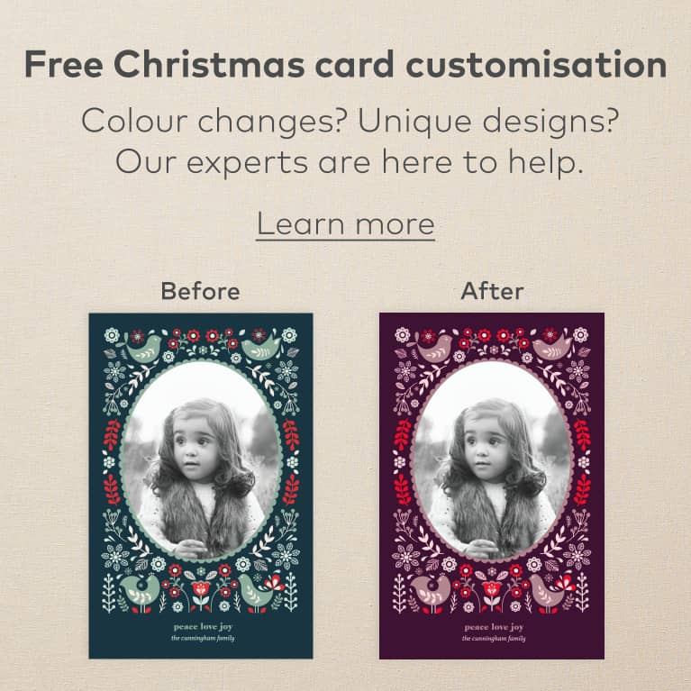 photograph about We Wash You a Merry Christmas Free Printable titled Xmas Playing cards, Customized Xmas Playing cards Vistaprint