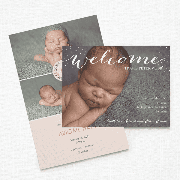 Baby Shower Invitations Birth Announcements Vistaprint