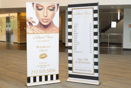 CUSTOM NAME HAIR /& NAILS Banner Sign NEW Larger Size Best Quality for the $$$