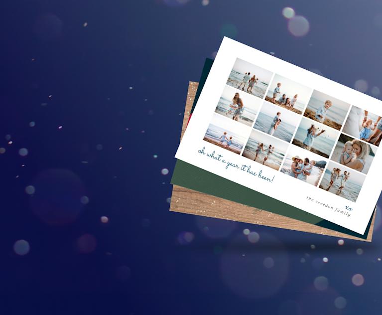 Multi-photo cards