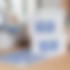 Adesivi rettangolari personalizzati con angoli arrotondati