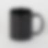 Tazza nera con foto