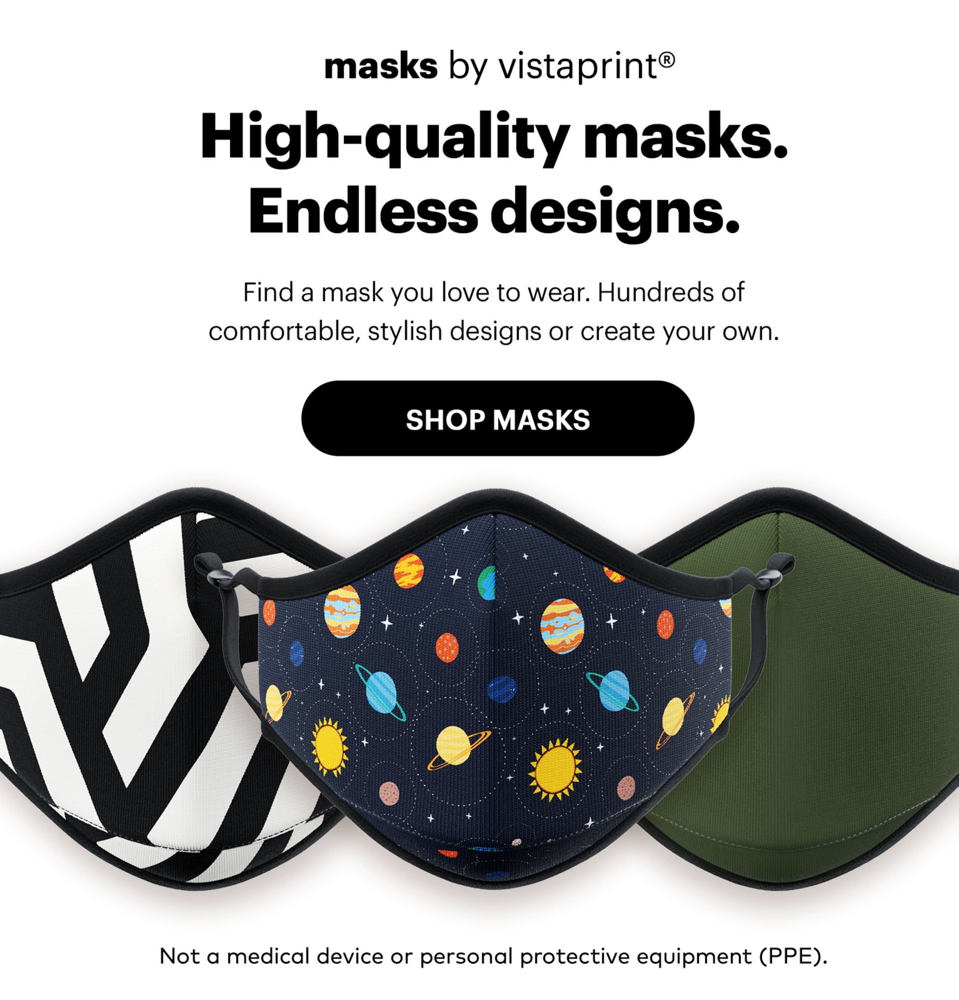 Face Masks plenty of new designs