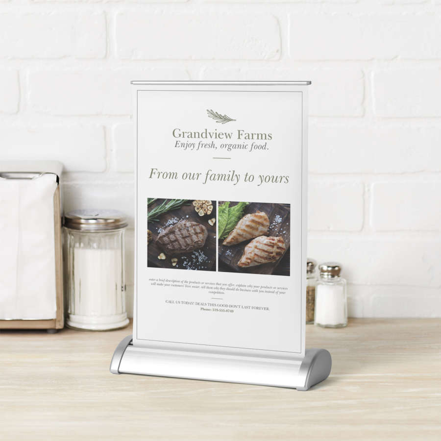 Tabletop Roller Banners