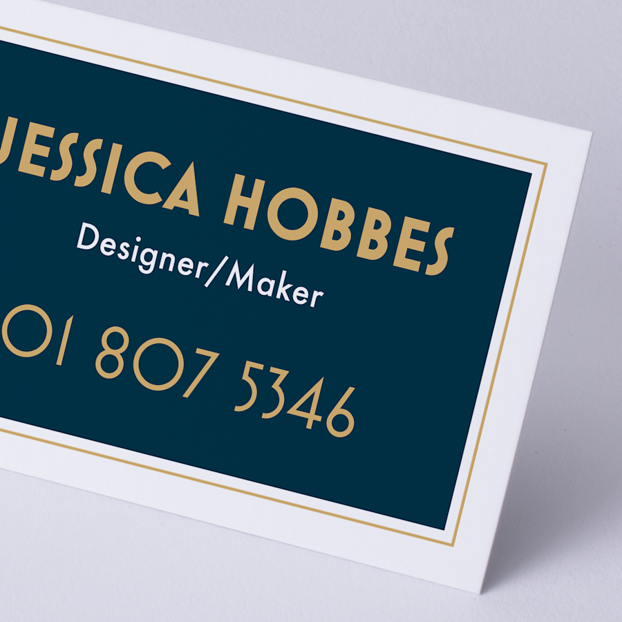 Natural Uncoated Name Cards