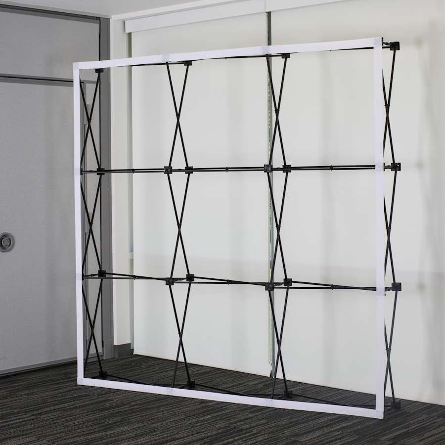 Pop up display frames