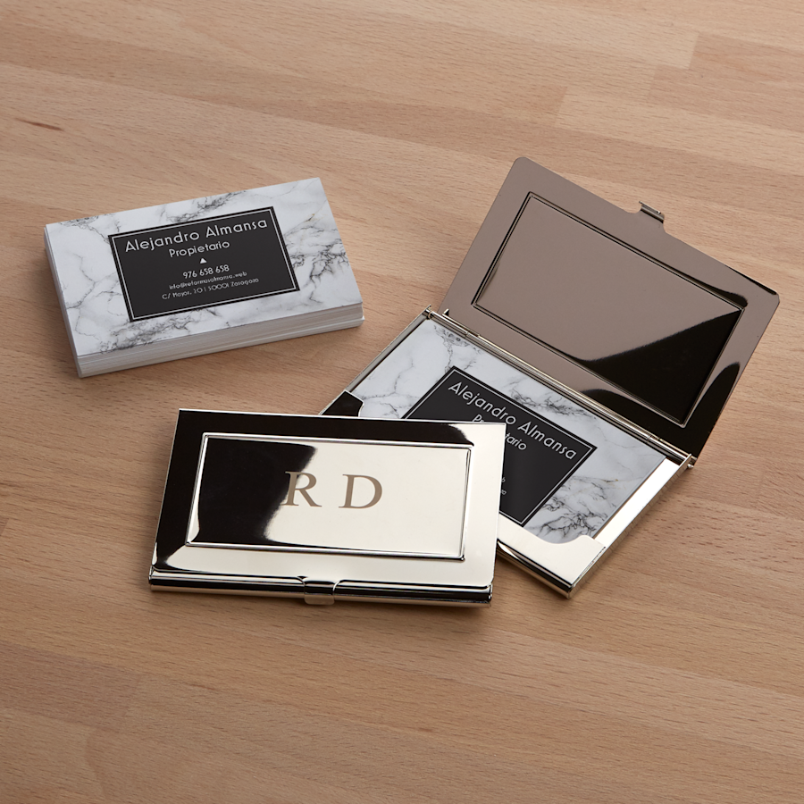 Engraved Business Cards Holders