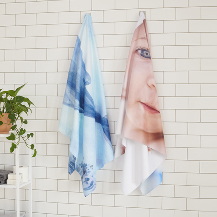 Asciugamano personalizzato con foto