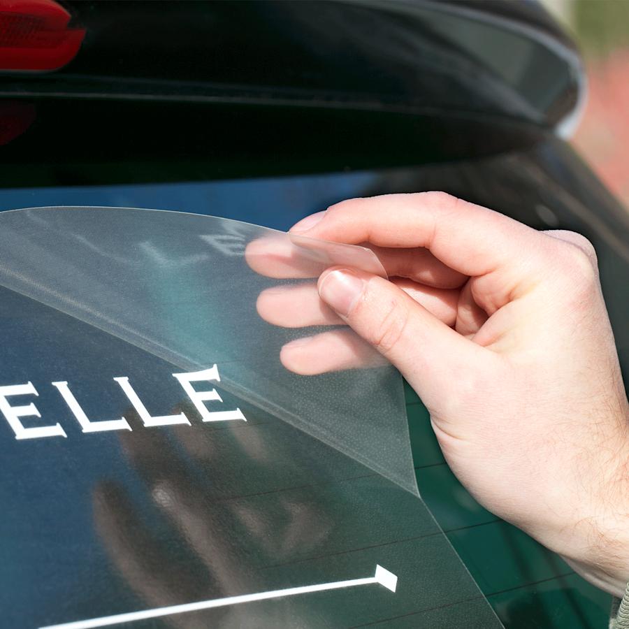 Adesivi per vetri auto