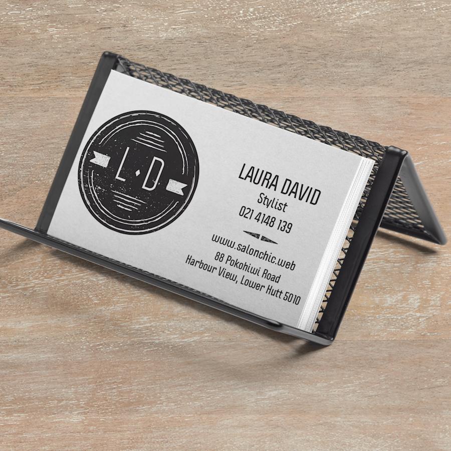 Metal Mesh Business Card Holder