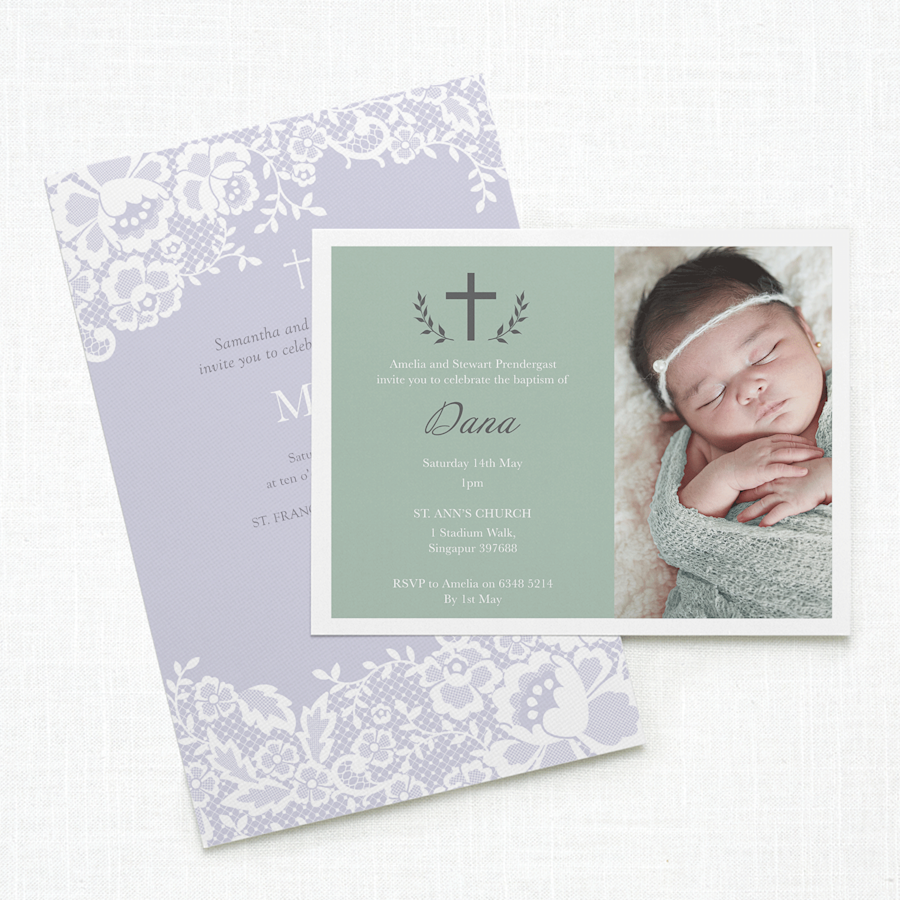 Invitations and Announcements