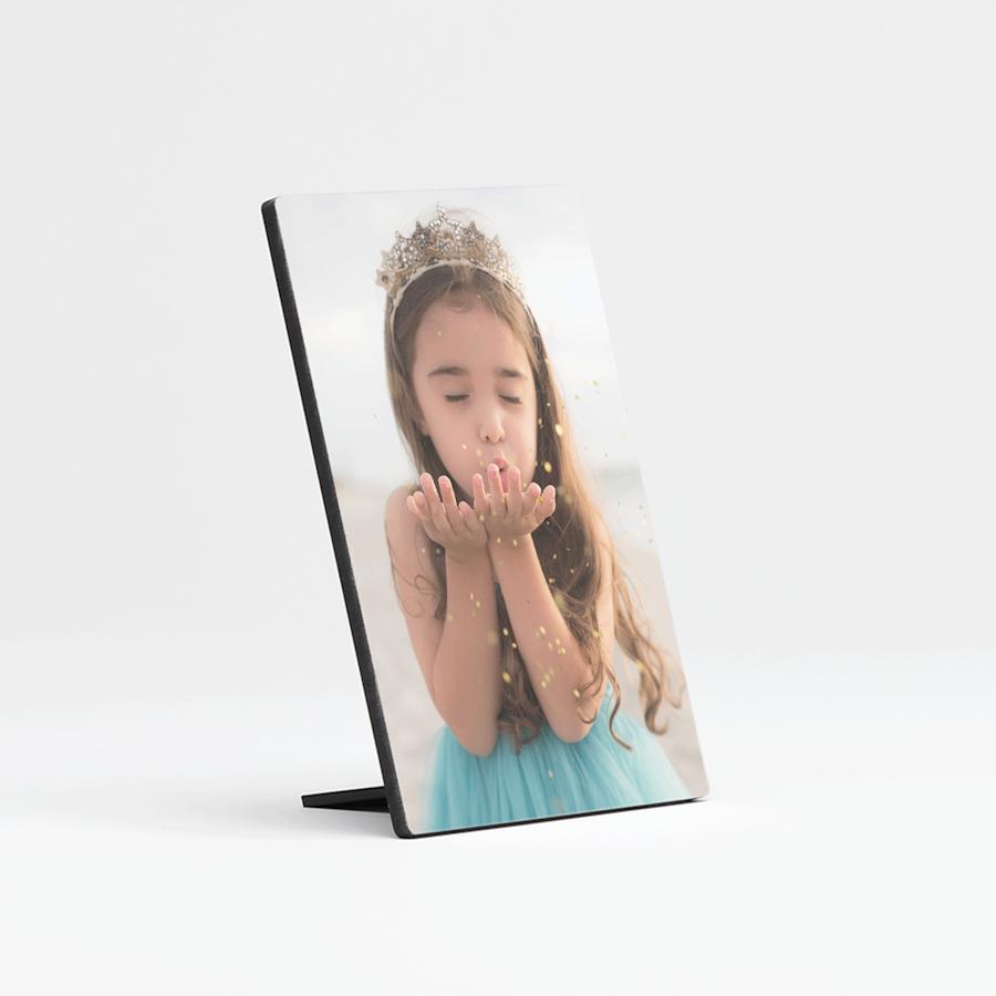 Placca con foto da scrivania