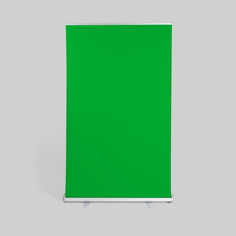 Fundos em tela verde roll up