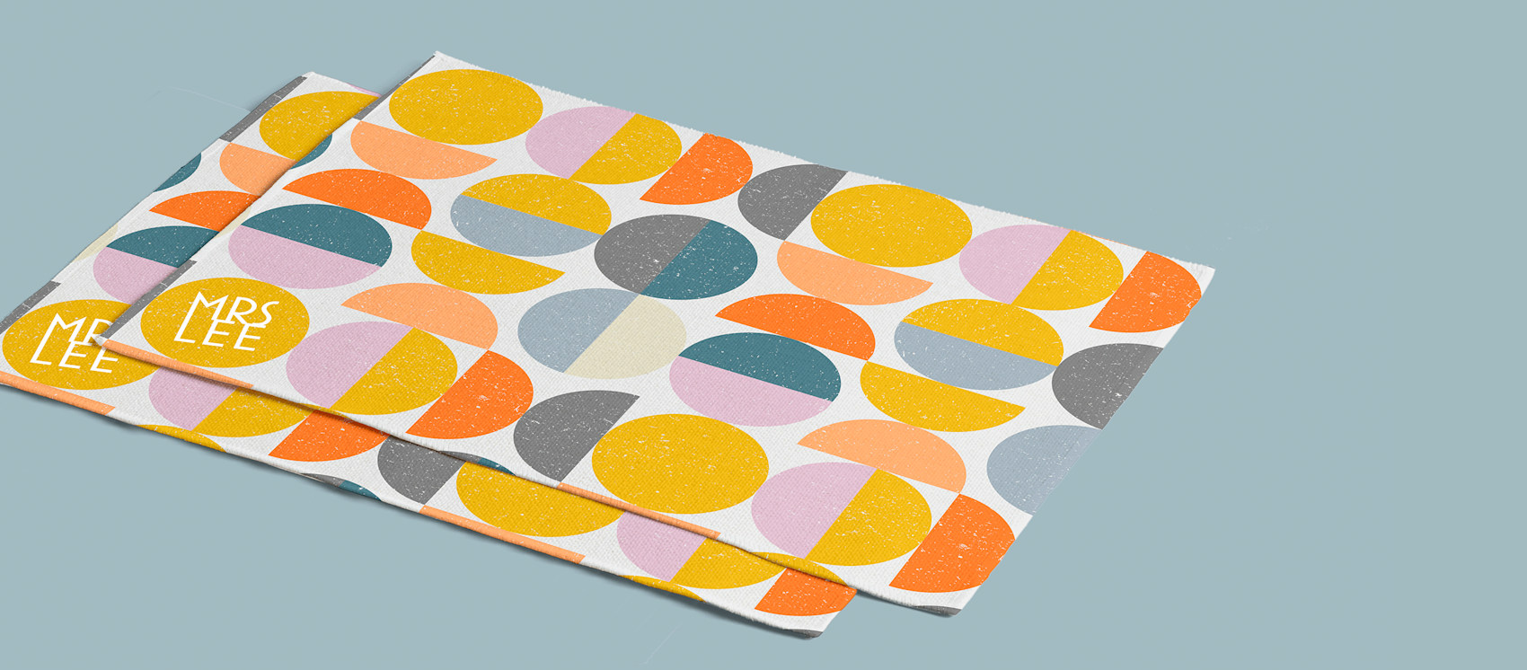 Fabric placemats