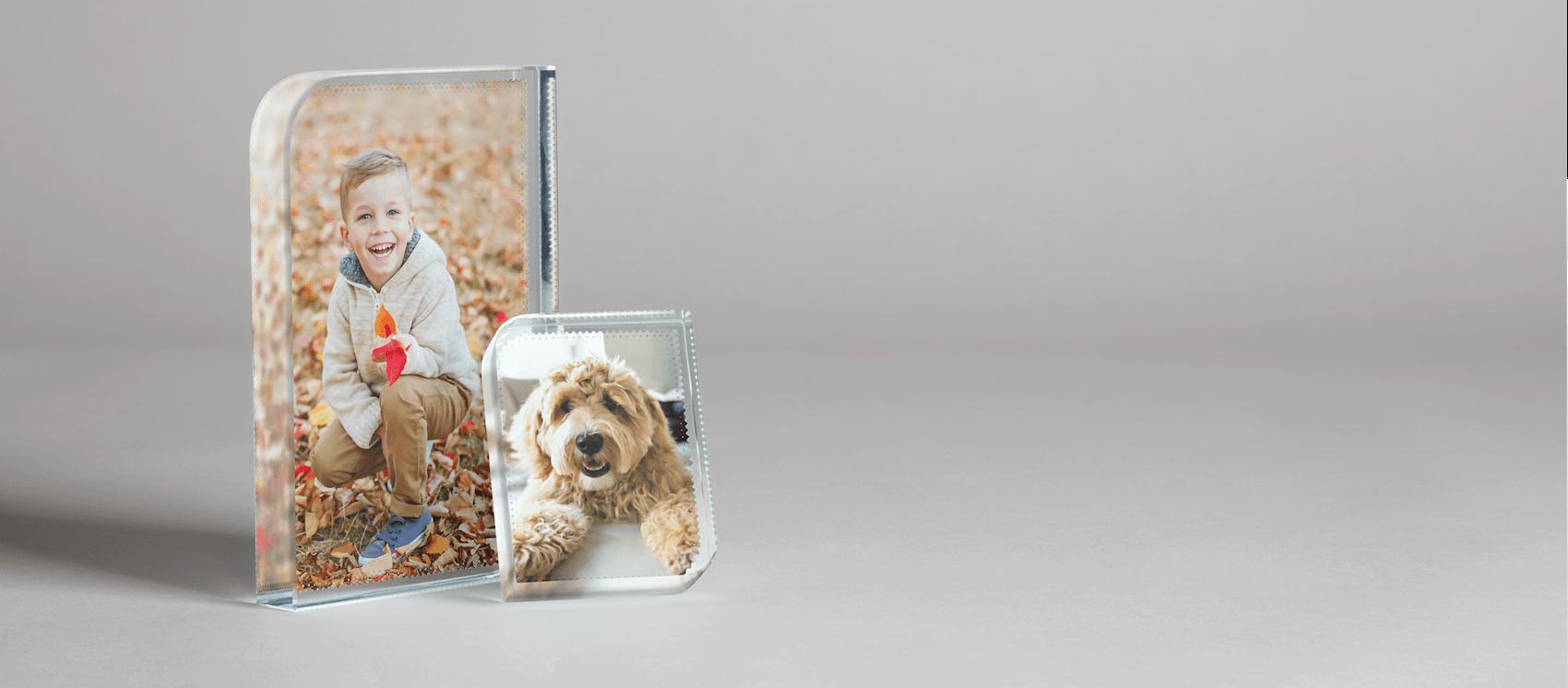 Glass Photo Blocks