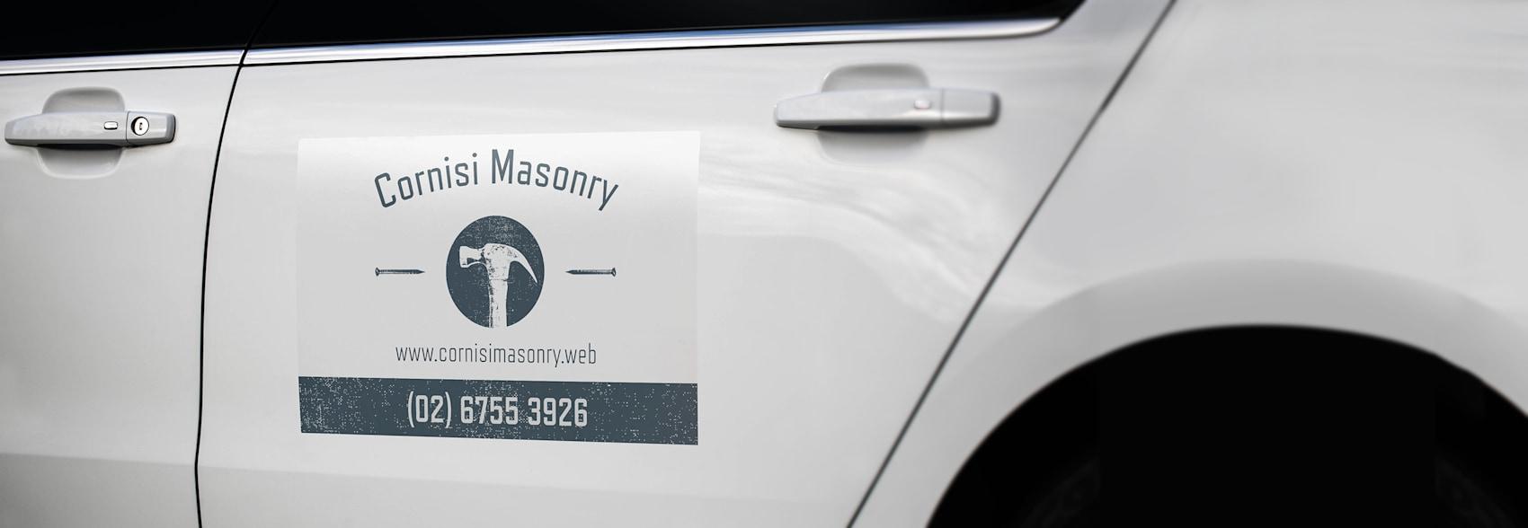 Custom car door stickers