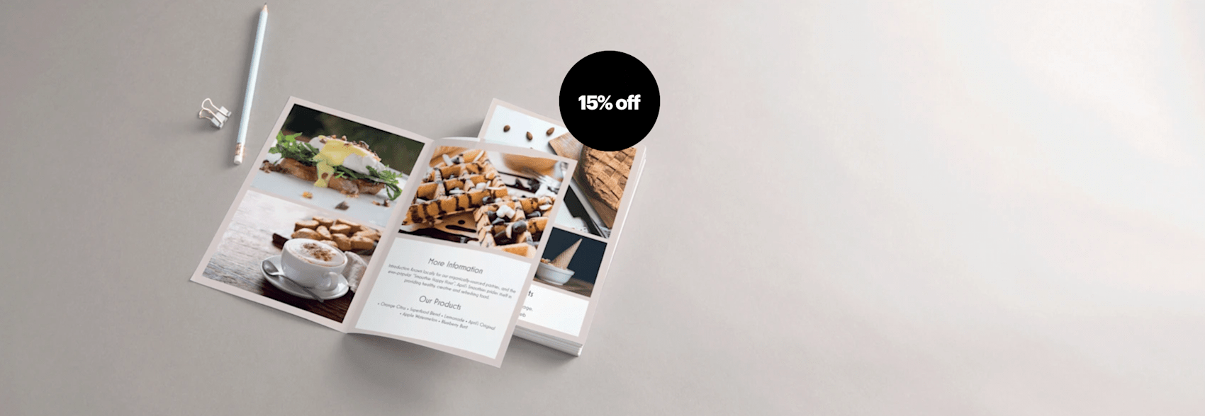Flyers 15% off