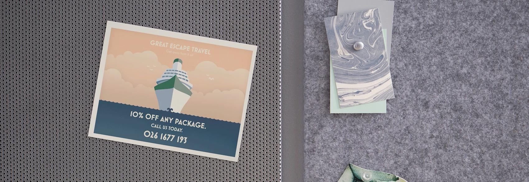 Postcard Magnets