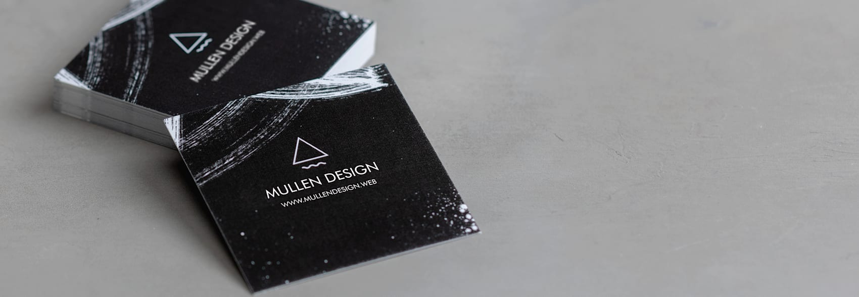 square business cards size 65 x 65 mm  vistaprint