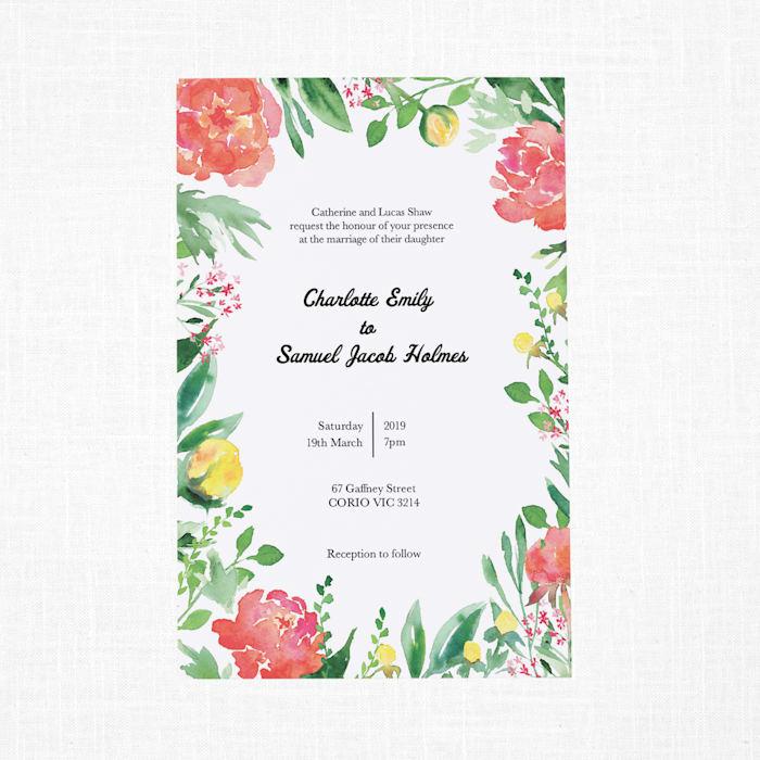 Custom Wedding Invitations Announcements Vistaprint