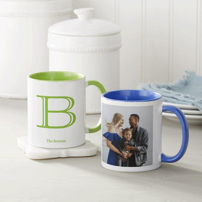 Personalised Mugs Nz Custom Photo Mugs With Print Vistaprint