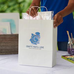 branded custom paper bag