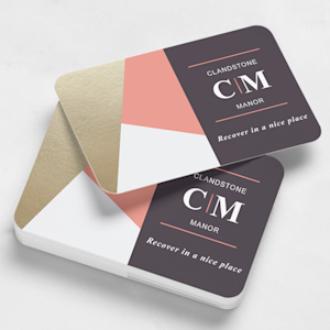 Rounded Corners Business Cards