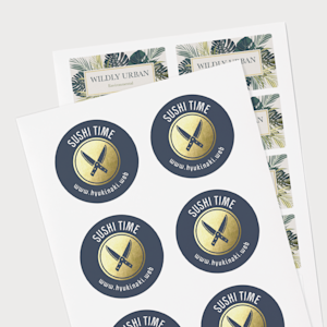 Custom Sheet Stickers