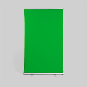 Tela verde roll up