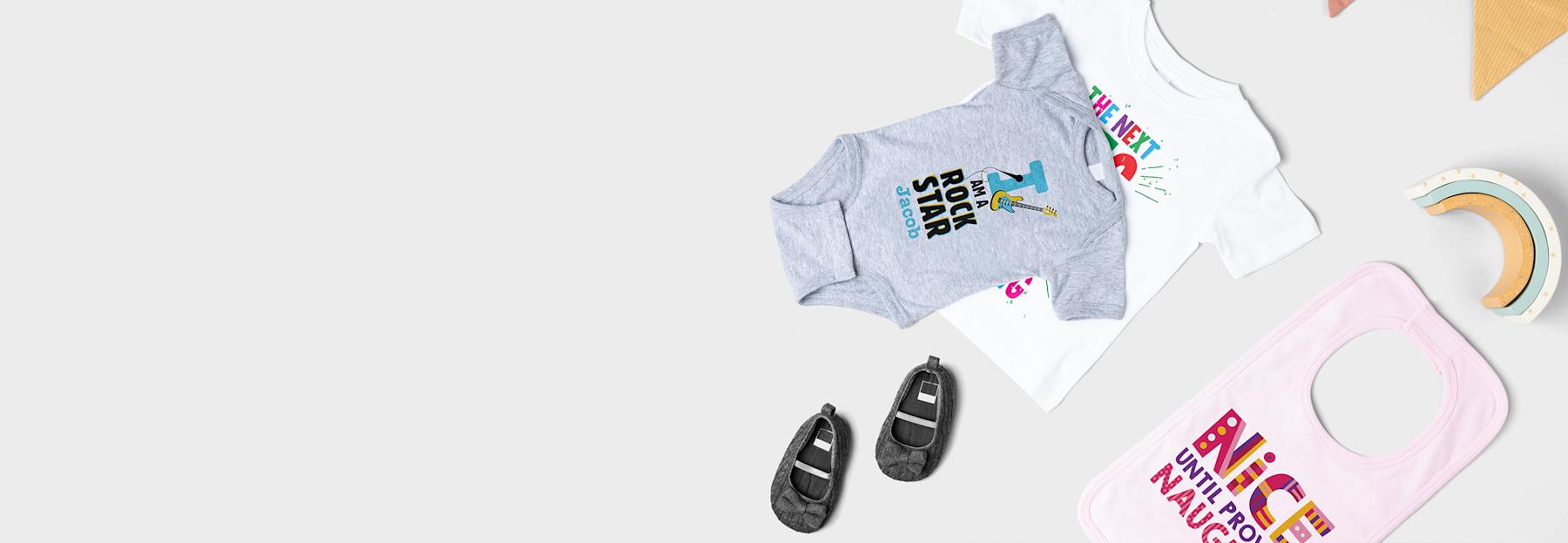 Custom baby clothing
