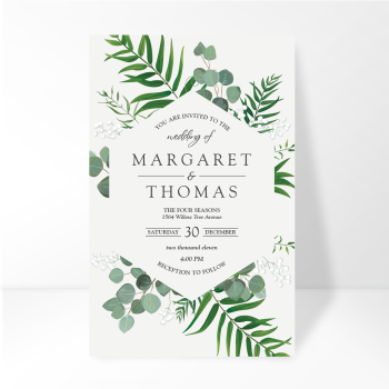 wedding floral and foliage tile IE