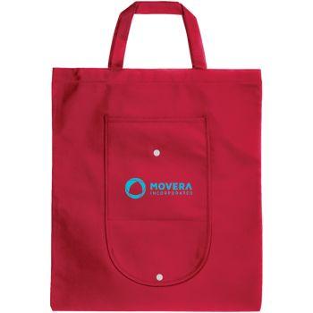 Non-woven foldable tote bags