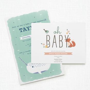 Baby Shower Invitations Birth Announcements Vistaprint