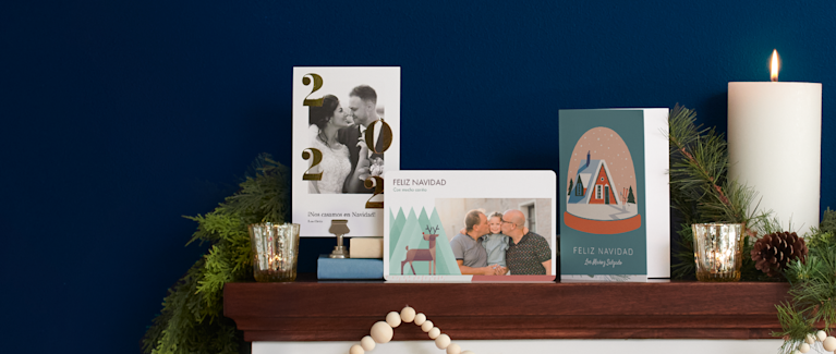 Tarjetas navideñas personalizadas